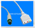Mindray 12 Pin ECG Trunk Cable Manufacture in ShenZhen