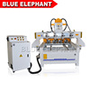 800*900mm Rotary Wood Machine , Cnc 4 Axis Router Cnc Woodworking with Four Spindles