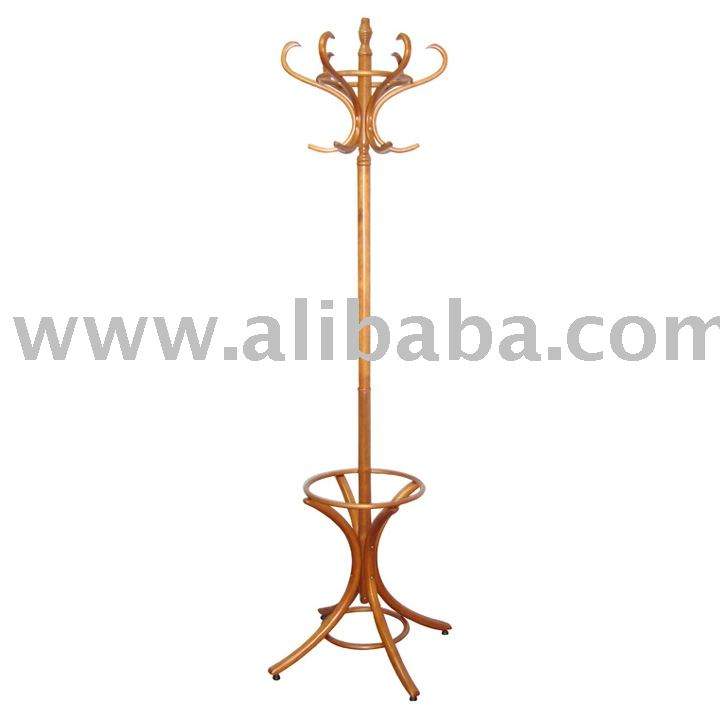 coat stand with hat and umbrella holder