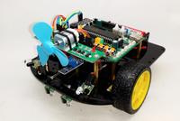 51 SCM smart car tracking/avoidance/extinguishing infrared remote control robot kit smart car