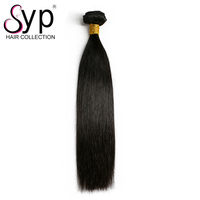 Cheap Nature Color Top Quality Grade 5a Peruvian Silky Straight Hair Wefts Extensions