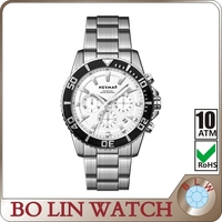 2015 China watch factory Classic stainless steel rolexable watch with japan movement
