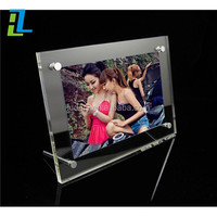 Magnetic Clear Acrylic Photo Frame / Perspex Picture Holder