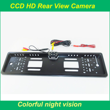 Wholesale European license plate camera with 4 Led & Best CCD Quality Camera