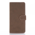 Retro matte leather phone case flip phone shell multicolour leather holster for iPhone 7/plus