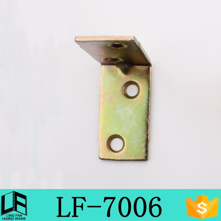 free sample Custom Angle Chair connecting metal brackets 40mm LF-7006