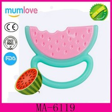100% Food Grade Silicone Teether Baby Teether Silicone Custom