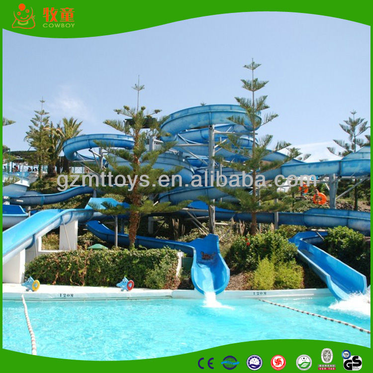 China supply water park equipment, amusement park water slide water park rides