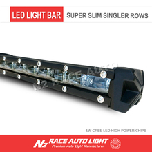 120W 150W 200W 300W single row led lighting bar ip67 3d led light bar for cars,jeep,auto parts