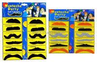 Hot Sale Good Quality Black Color Festive And Party Supplies Fake Beard Mustache MU7046