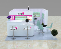 Advanced design of Cosmetology kiosk and Cosmetology kiosk 3d max design