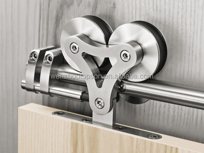 Stainless Steel Wooden Barn Door Hardware