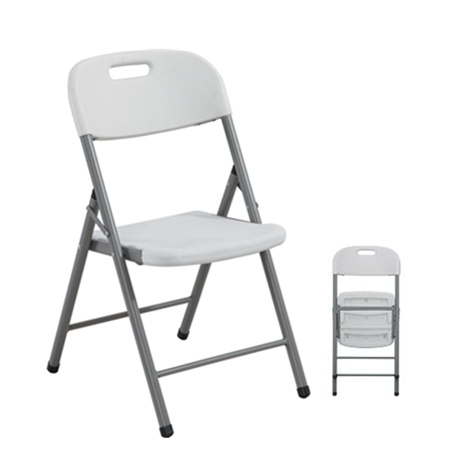 Steel frame with hdpe cheap plastic chair simple metal chair