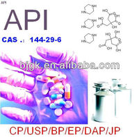 high quality Piperazine citrate 144-29-6
