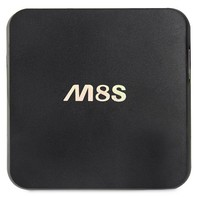 Original M8S Android TV Box 2 G / 8 G Dual band 2.4 G / 5 G wi fi kodi Android 4.4 Amlogic S812 Chip 4 K Full HD Smart TV