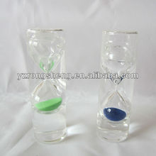 polyresin 1 minute glass sand timer for kid