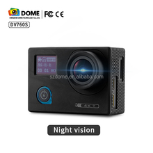 4K Mini Action Camera night vision customerized driver sports camera Waterproof Wifi sports cam