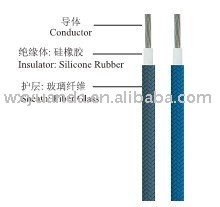 Silicone Rubber insulated braided wire