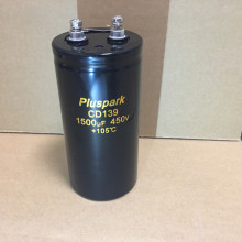 Electrolytic Capacitor 390uF 450V,Power Supply Capacitor 390MFD 450V