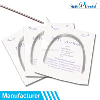 Sinitic Dental Niti wire ovoid / natural / square orthodontic wire