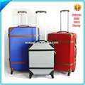 ABS Plastic aluminum trolley carrying vintage case