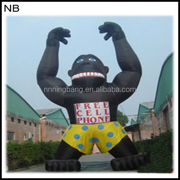 NB-CT30109 Giant Vivid inflatable ape man for Advertising