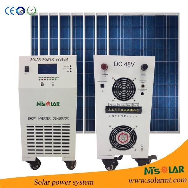 4kw 220 Volt Mobile Solar Power Residential Buy