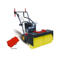 6.5 HP gasoline powered 60 cm snow sweeper