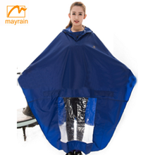 2018 summer Adult Bicycle Raincoat Polyester Motorcycle Rain Poncho