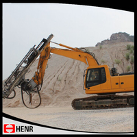 Quarry/mine/pipe line/cement used hydraulic rock drill