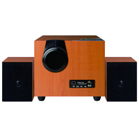 Factory Portable 2.1 Channels Multimedia Speaker With Mic Input/USB/SD/FM/Remote Control