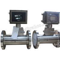 BBZ series natural gas volume measurement turbine flow meter
