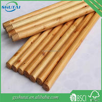 House cleaning tools low price wooden broom handles bulk
