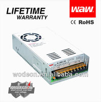 S-250-24 100 volt dc power supply with CE ROHS approved