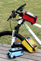 bicycle accessory bike frame bag for ROSWHEEL 12496 cell phone bags