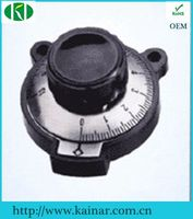knob of potentiometer