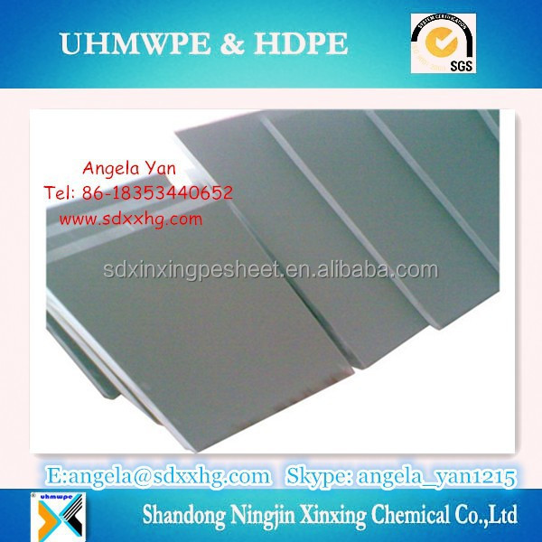 PVC rigid plastic board Extruded Sheets / BLACK/WHITE/GREY PVC Rigid Plate