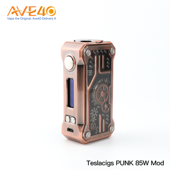 2018 New Arrivals Tesla Punk 85W Box Mod from Teslacigs