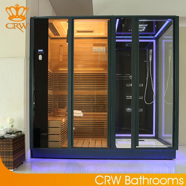 CRW AG0011 Infrared Sauna Shower Room Combination