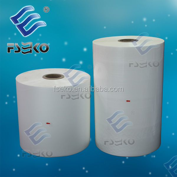 25mic matt 2000m per roll bopp film manufacturer in china