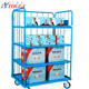 wire container type and heavy duty 500kg rolling security cage
