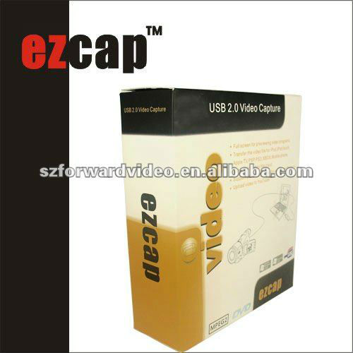 USB video capture for MAC,USB video grabber for MAC OS,EzCAP USB2.0 Video grabber-ezcap128