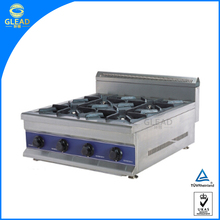 Restaurant Commercial table top gas cooker/royal gas cooker/italian gas cooker