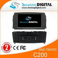 BNZ-7804GD with AM/FM/RDS/USB car audio player with gps for Benz C Class W204