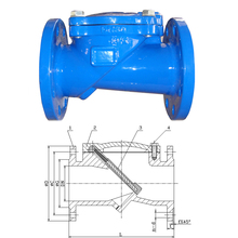 Flexible Disc Check Valve BS5153,DN100
