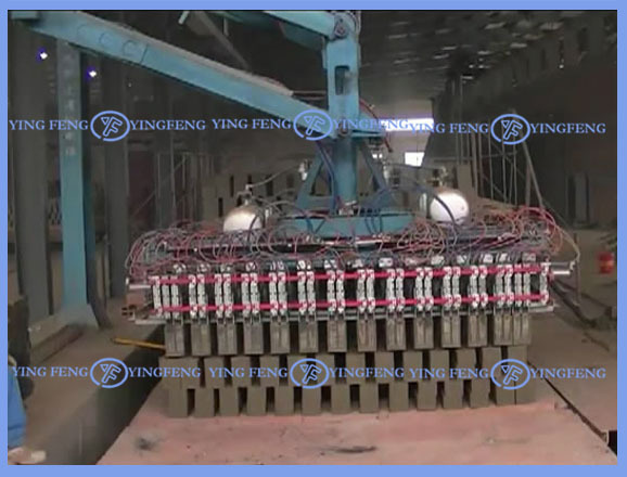 Yingfeng Zhongye brand Automatic brick stacking machine /brick stacker
