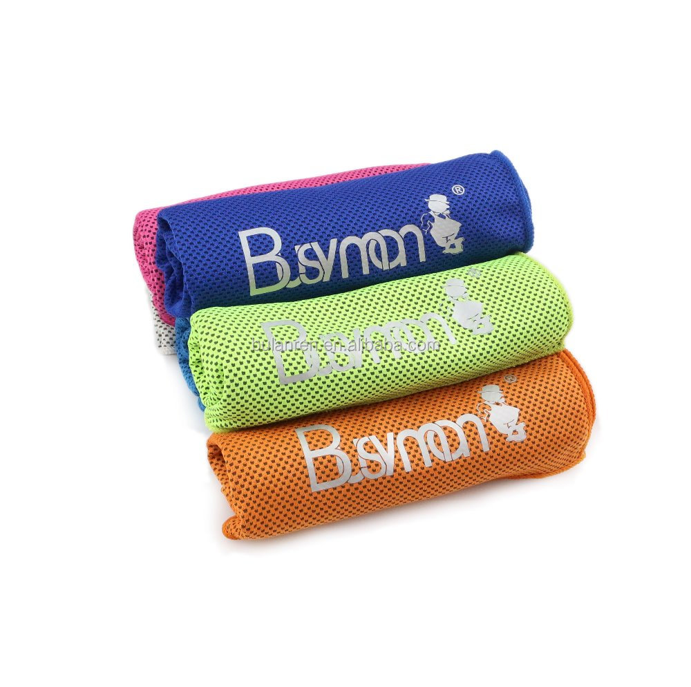 Custom Cold Sport Towel Magic Microfiber Instant PVA Cooling Towel