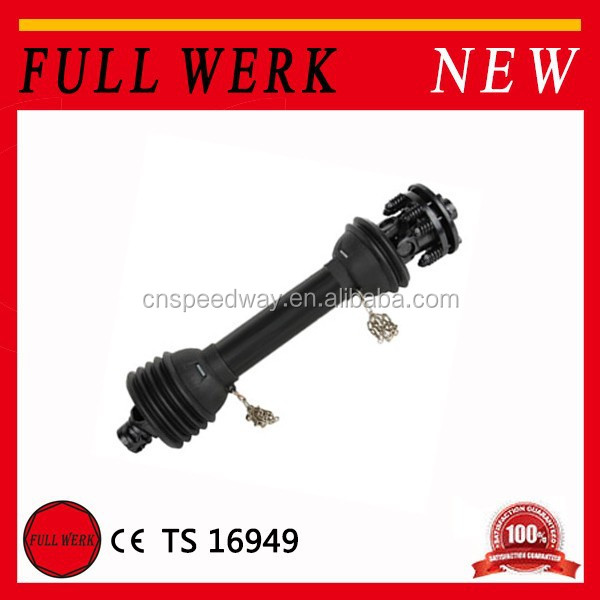 Balck FULL WERK Agricultural Forged PTO Drive Shaft of ford tractor spare parts
