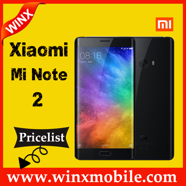 "2017newest! 5.7"" Mi Note 2 Edge android phone Snapdragon 821 Fingerprint alibaba in russian sample available"