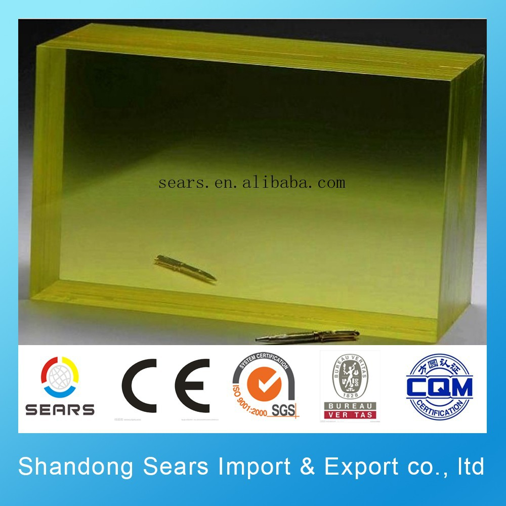 Factory direct high quality X-ray lead glass price for shielding.